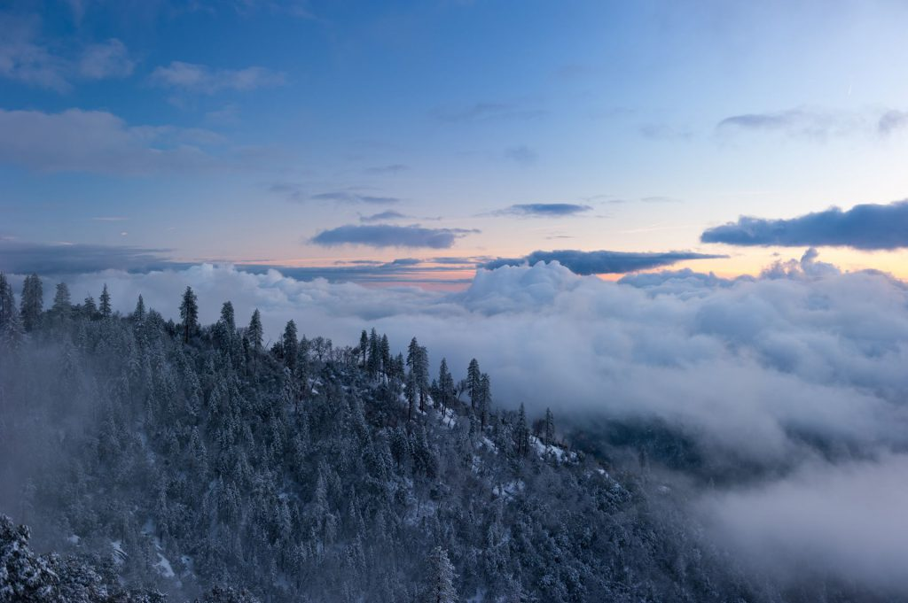 alpine over the clouds