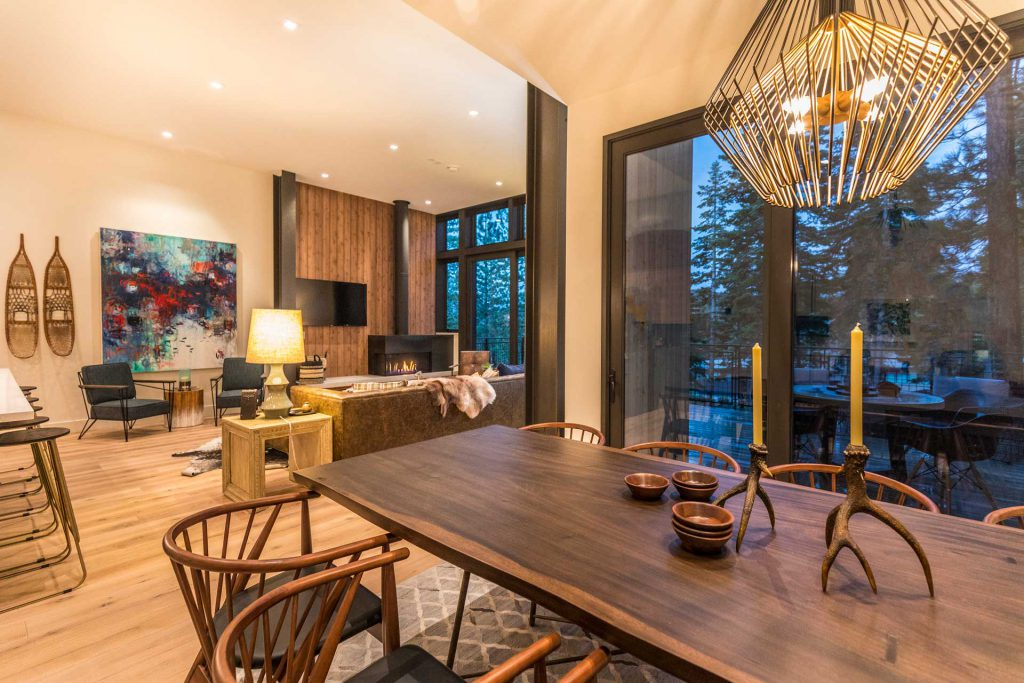 Mountainside Boulders Residences Dining Room