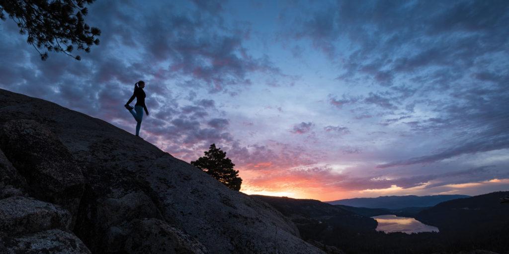 mountainside-tahoe-northstar-running-sunset