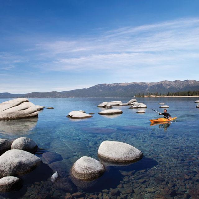 lake tahoe paddling